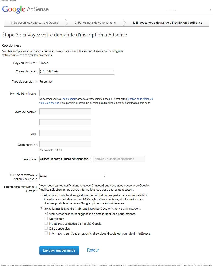 zoom 150 900 google AdSense   Envoyez votre demande d'inscription à AdSense