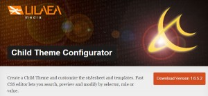 WordPress-Child Theme Configurator-Plugins