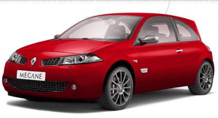 voiture-renault-megane-rouge