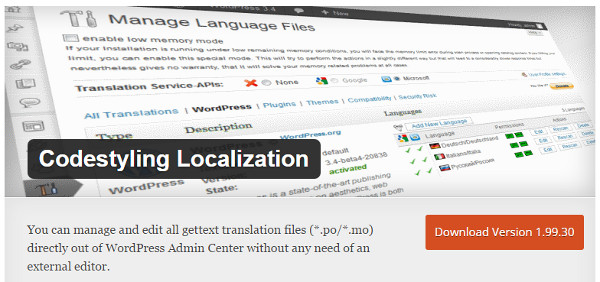 plugin-wordPress-localization