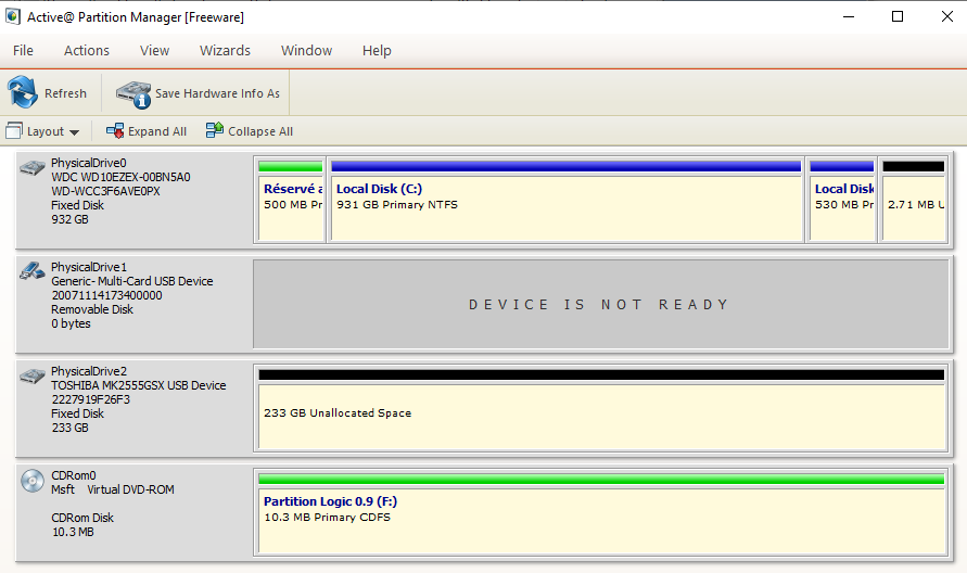 Comment supprimer des partitions sur un disque dur