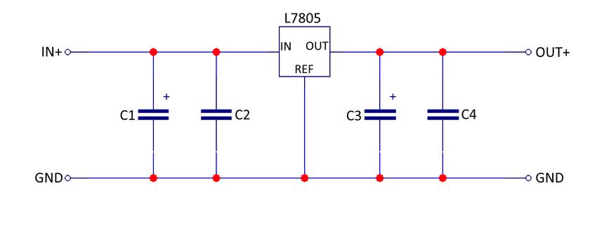 Calcul du condensateur de filtrage d'un régulateur dc